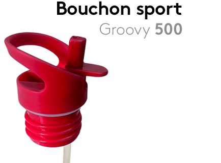 Image                 Bouchon_sport_Sporty 75_Groovy50 +paille_rouge