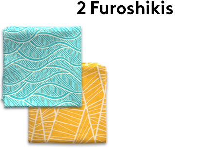 Image                 Furoshiki_x2_ondes_turquoise_foret_or