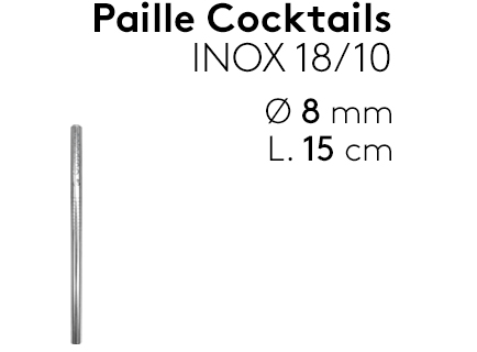 Image                 Paille_cocktail_inox